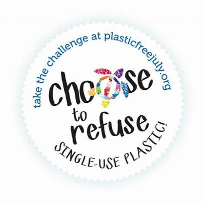 Plastic July Single Refuse Choose Plastics Challenge