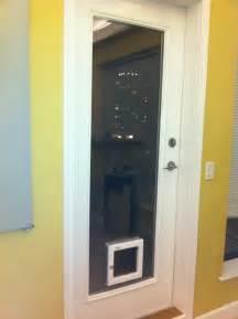 Sliding Glass Door with Dog Door Built In