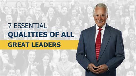 essential qualities   great leaders youtube