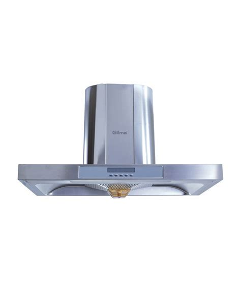 Gilma 50cm 1100 Visto Hood Chimney Silver Price in India