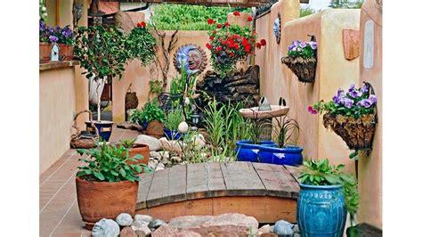 diseno de jardin  espacios pequenos youtube