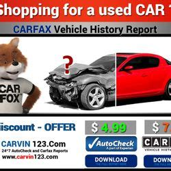 Carvin123  Cheap Carfax Autocheck Car Vin History Used