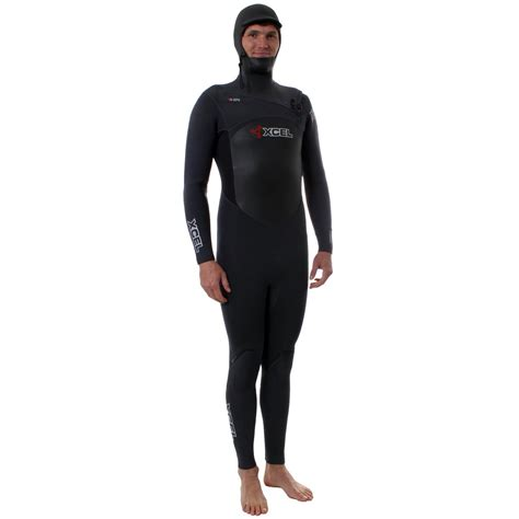 XCEL X-Zip2 5/4/3 Hooded Full Wetsuit   evo outlet