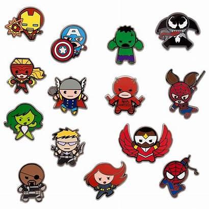 Kawaii Marvel Disney Mystery Pack Pins Shopdisney