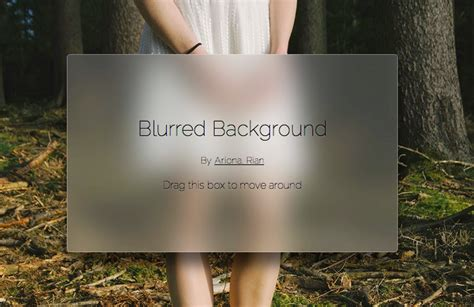 Blur Background Css Html Css How To Blur Background Image Within The Div