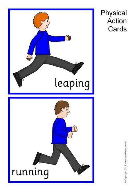 physical action cards sb sparklebox