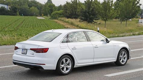 Audi A4 Facelift 2019 Motor Ausstattung by 2019 Audi A4 Wheelbase Facelift Photo Motor1
