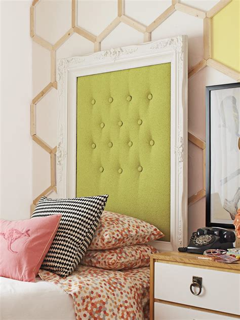 Headboard And Frame by How To Make A Picture Frame Headboard Hgtv