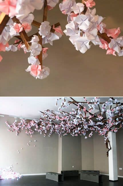 cool origami cherry blossom tree origami