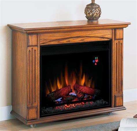 lancaster oak electric fireplace roll  mantel package