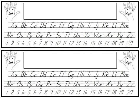 Desk Name Preschool Desks Alphabet And Numbers Desk Name Plate Name Tags