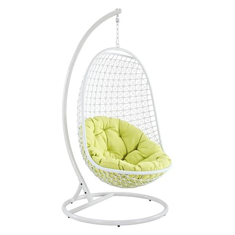 encounter all weather wicker hanging lounge chair