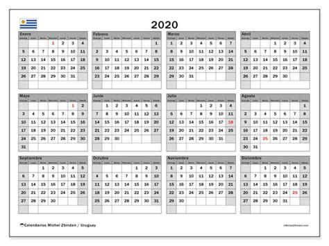 calendario uruguay michel zbinden es