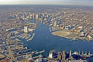 Baltimore Harbor in Baltimore, MD, United States - harbor ...