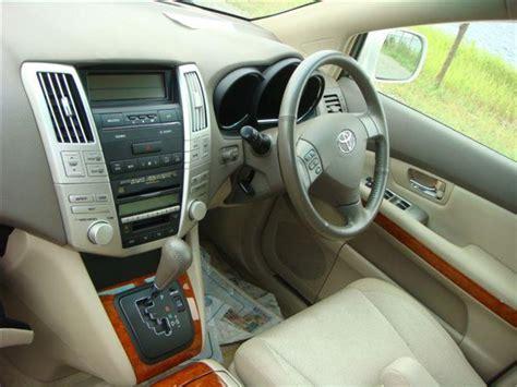 harrier lexus interior 2003 toyota harrier pictures 3000cc gasoline automatic