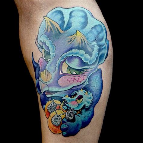 Elimination Tattoo New School Dinosaurs  Ink Master