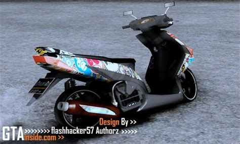 Scoopyi Modified by Gta San Andreas Gilera Runner 50 Sp Mod Gtainside