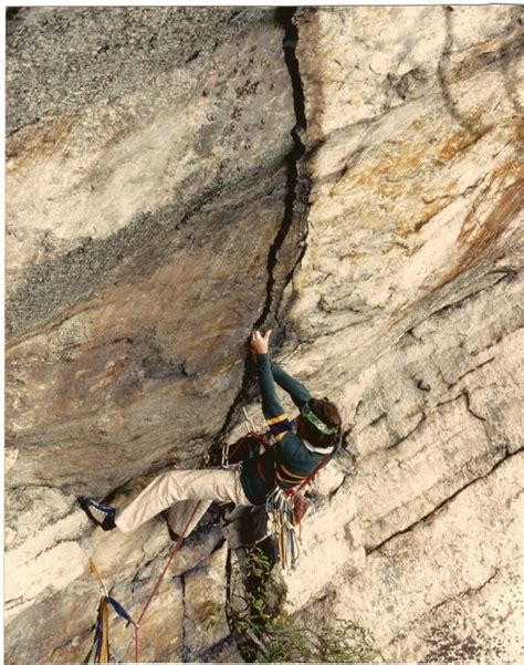 Rich Ross The Very First Attempt Climbing Red Tape