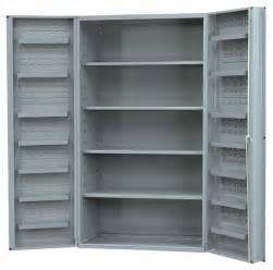 durham 48 inch wide x 24 inch cabinets with 4 adjustable shelves and 14 door shelves