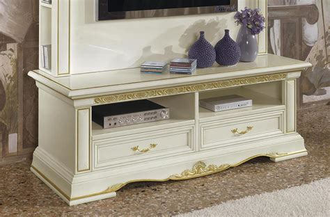 luxury tv stand  carved wood   drawers idfdesign