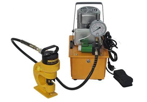 Ch 60 Punching 10mm Copper 6mm Metal Sheet Hole Punch