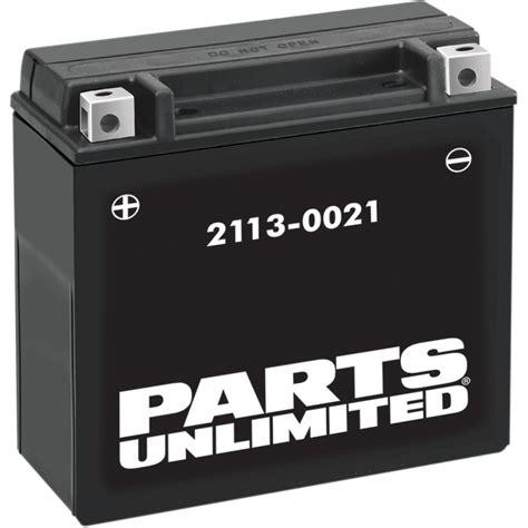 parts unlimited agm battery ytx7l bs ctx7l bs parts
