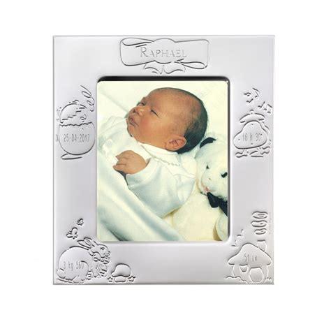 cadre naissance en m 233 tal argent 233 grav 233