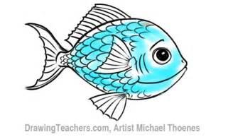 Cartoon Fish Drawings