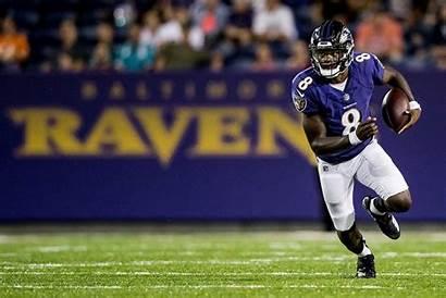 Lamar Jackson Ravens Baltimore Wallpapers Cave Nfl