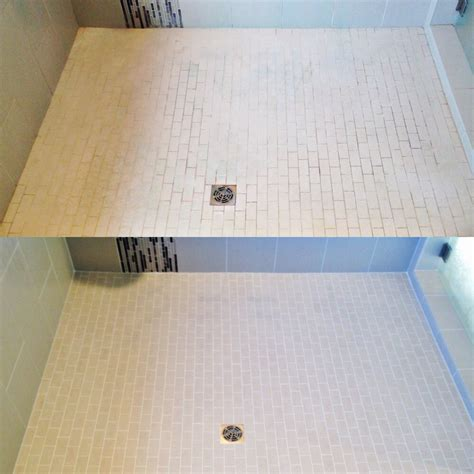 shower floor grout sealing northwest grout works