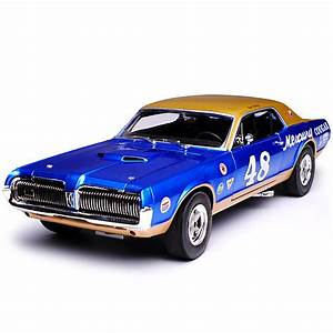 Ford Mercury Cougar Coupe Blau Racing 1  Generation 1966
