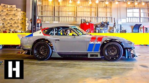Datsun 240z Build by Frankenstein V8 240z Build 5 Year Track Project Is