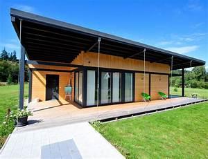 Maison Bois Plain Pied Type Loft Nos Maisons Ossatures
