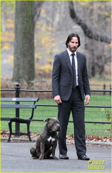 keanu reeves wraps  john wick  nyc filming