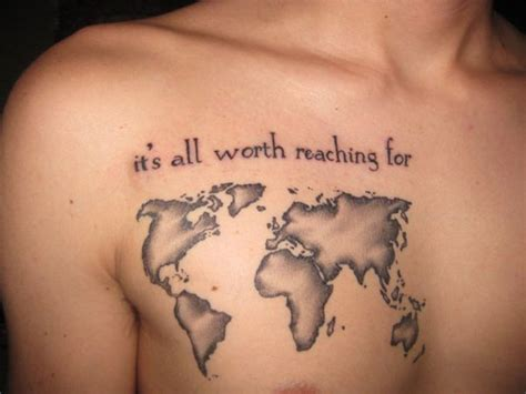 map tattoos designs ideas  meaning tattoos
