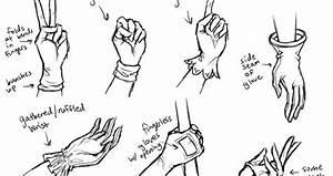 Collection Of How To Draw Hands Tutorials   Ninja Crunch
