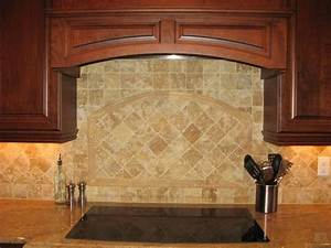 travertine backsplash kitchen makeover pinterest With kitchen cabinets lowes with texas vehicle registration sticker