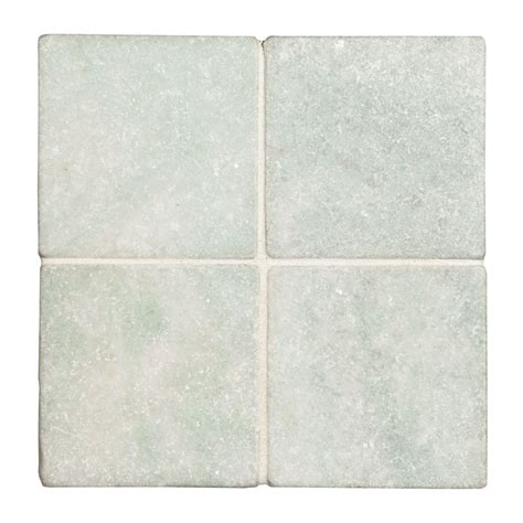 ming green marble tile ming green 4 quot x 4 quot tumbled marble tile