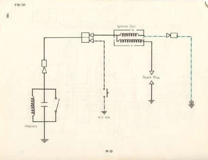 Kawasaki Ke100 Coil Wiring Diagram by Service Manuals The Junk S Adventures