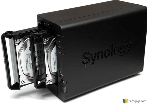 synology diskstation ds  bay nas review techgage