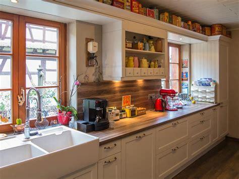 d馗o cuisine vintage cuisine rustique avec évier vintage laurent munch photo n 15