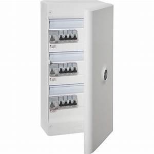 Porte Tableau Electrique : tableau lectrique quip et pr c bl legrand 3 rang es 39 ~ Premium-room.com Idées de Décoration