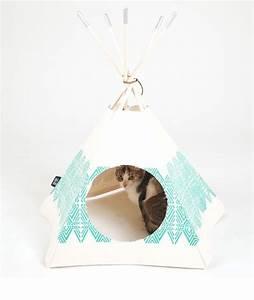 Tipi Pour Chat : tipi pour chat id e diy pinterest tipi cat and dog ~ Teatrodelosmanantiales.com Idées de Décoration