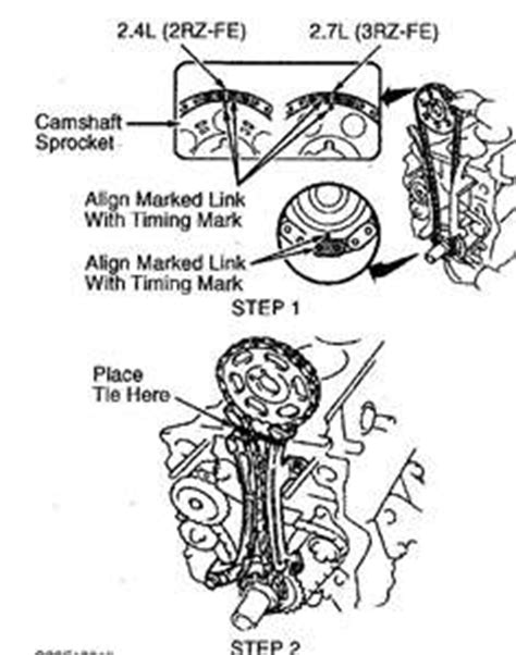 solved i need a diagram for the timing chain and marks fixya