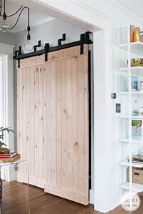 remodelaholic 35 diy barn doors rolling door hardware With barn doors for large opening