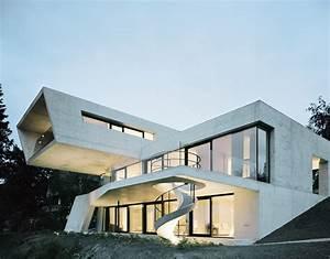 Die Besten Häuser : parallelogramm aus beton moderne einfamilienh user aus beton ~ Lizthompson.info Haus und Dekorationen