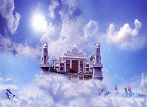Palace And Sky Photograph by Artist Nandika Dutt