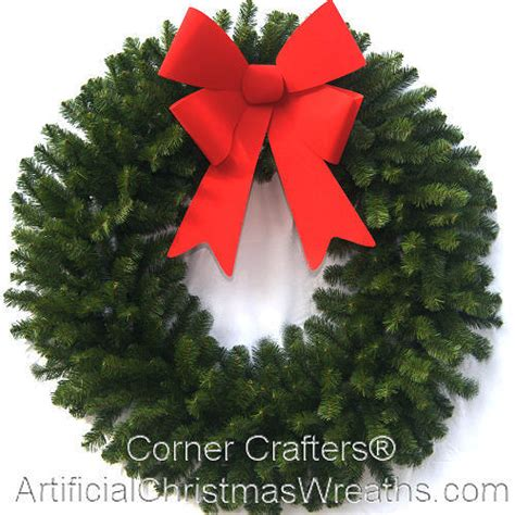 4 foot christmas wreath without lights
