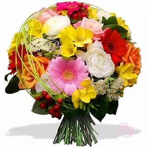 Bouquet De Fleurs : les fleurs du fleuriste bouquet eclat de fleurs corse ~ Teatrodelosmanantiales.com Idées de Décoration