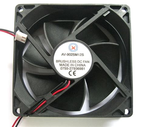 5pcs dc brushless cooling fan dc 5v dc fans 92mm 92mm 25mm 2 wire 9025 ebay